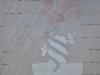 Letschiner Wappen als Schieferornament